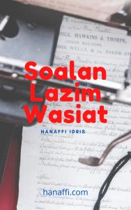 Soalan Lazim Wasiat